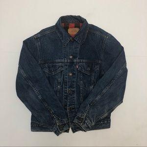 Vintage 1980 Levi's Buffalo Denim Jacket